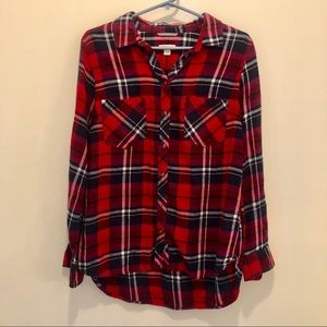 Worn Once Merona Red Flannel Size Large